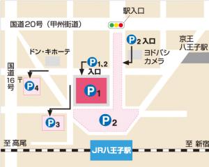 東急駐車場